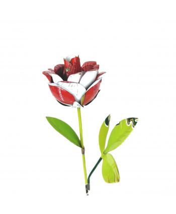Rose métallique