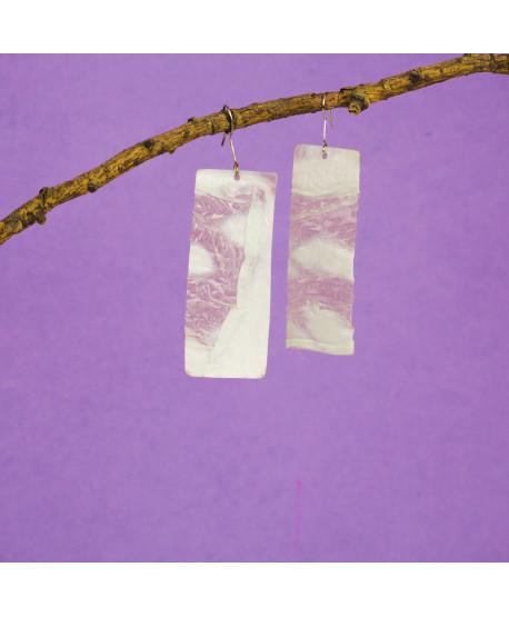 Boucles d'oreilles Plastic Tree