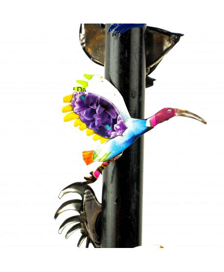 Aimants oiseaux en métal
