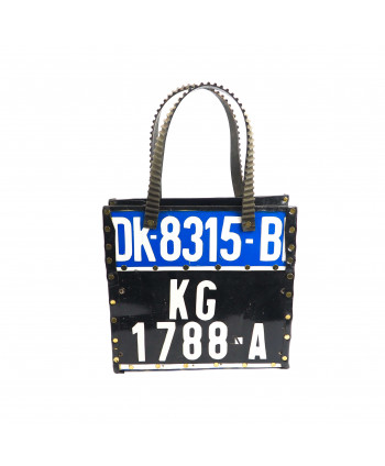 sac plaque d'imatriculation
