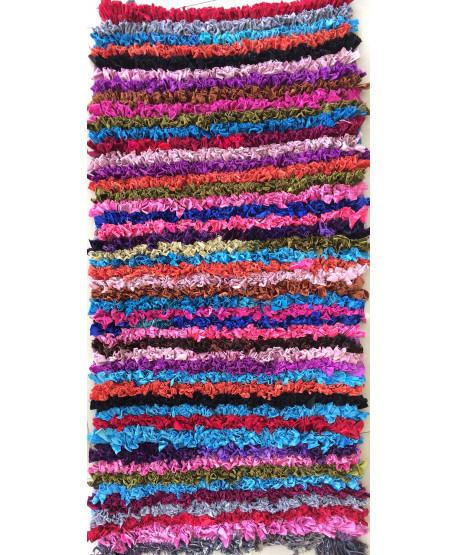 Tapis boucharouite - chutes textiles neuves