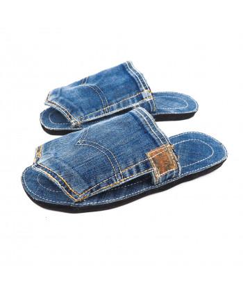 sandale mule en jeans