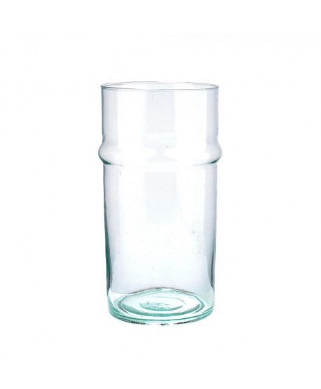 Vase en verre transparent Beldi
